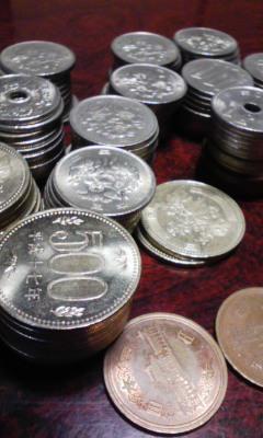 小銭貯金。
